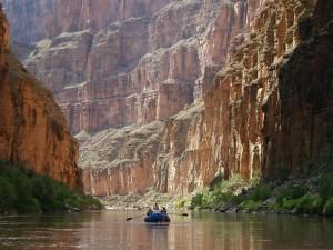 Navegando por el Gran Cañón