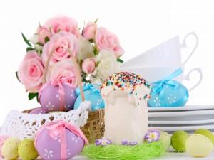 Bello arreglo para el día de Pascua