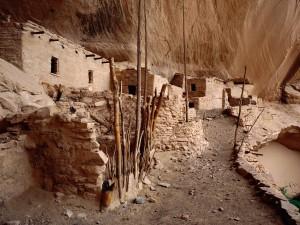 Ruinas en el Monumento Nacional Navajo (Arizona)