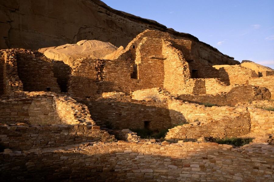 Pueblo Bonito, Cañón del Chaco (Chaco Culture National Historical Park, Nuevo México)