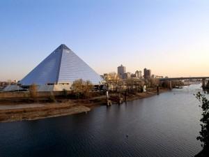 Vista de Memphis, Tennessee