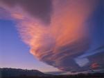 Hermosa nube lenticular
