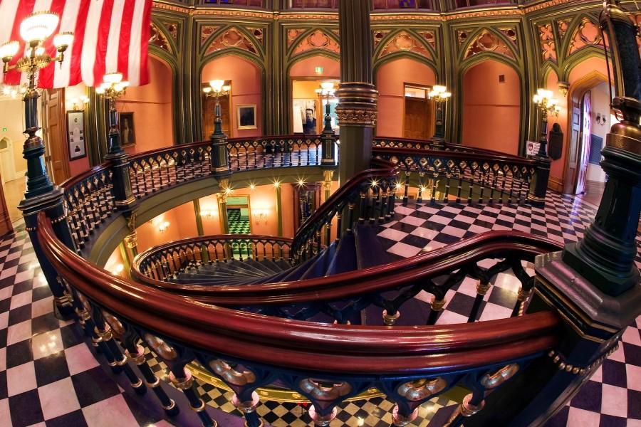 Interior del Capitol (Baton Rouge, Luisiana)