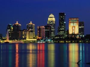 Noche en Louisville  (Kentucky)