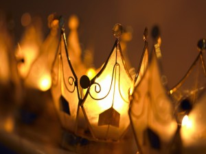 Lámparas encendidas
