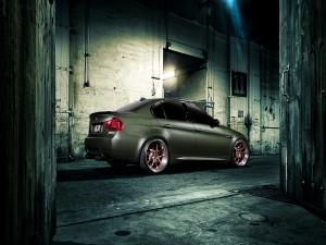 Un BMW M3 en una calle