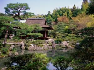 Templo Ginkaku-ji (Kioto, Japón)