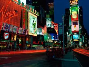 Noche en Times Square (Nueva York)