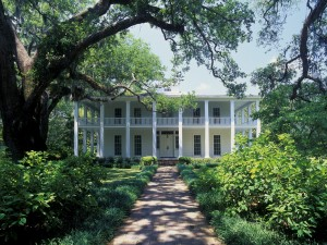 La mansión Wesley (Eden Gardens State Park, Florisa)