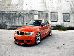 BMW de un bonito color