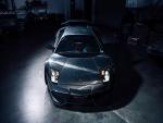 Lamborghini Murcielago con las luces encendidas