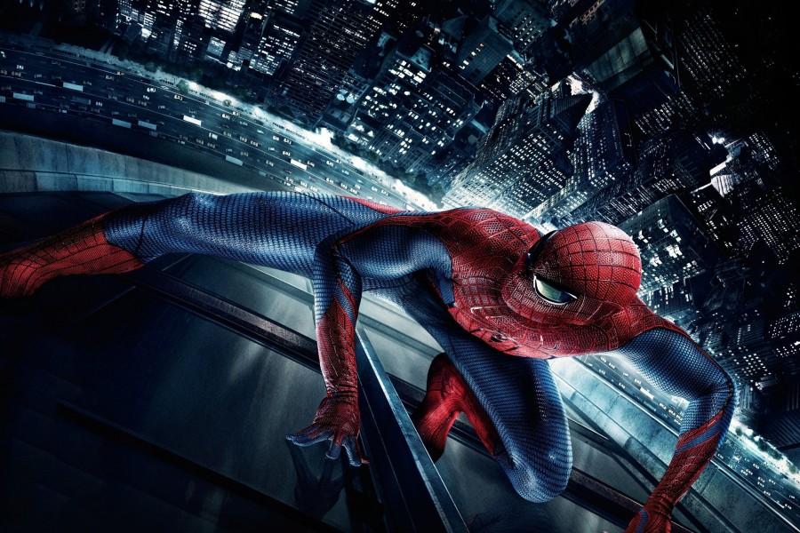 Spider-Man en un rascacielos
