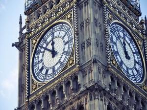 El Big Ben marca las horas