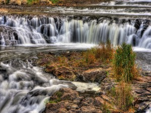 Impresionantes y vistosas cascadas