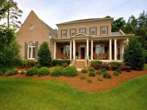 Encantadora casa con jardín