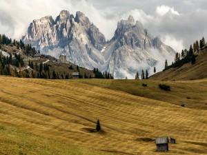 Pequeño poblado en Tirol del sur (Italia)