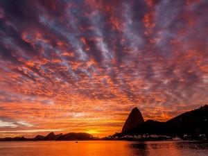 Amanecer en Río de Janeiro (Brasil)