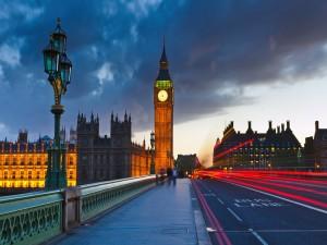Paseando por Londres al amanecer