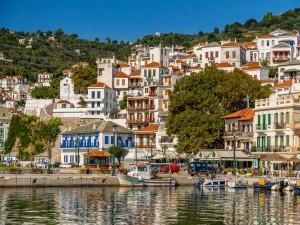 Embarcadero en Skopelos (Grecia)