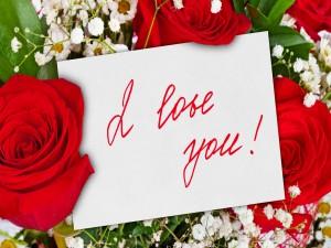 Rosas con un hermoso mensaje de amor