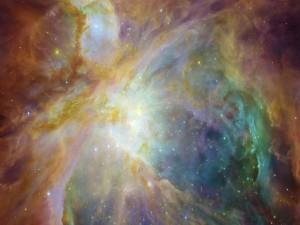 La nebulosa de Orión en una explosión de colores