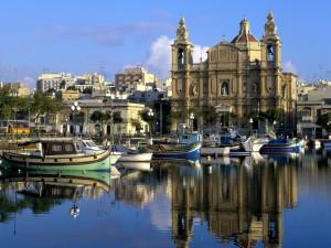 Vista de Msida (Malta)