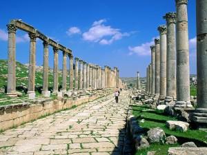 Ruinas Romanas de Gerasa (Jordania)