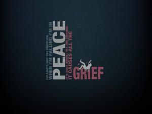 Hablando sobre la paz