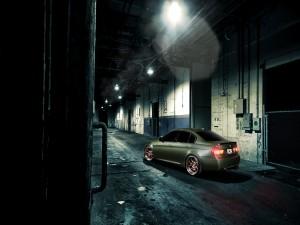 Parte trasera de un BMW M3
