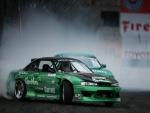 Nissan Silva en una competición de drift