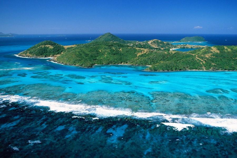 Isla en Las Antillas