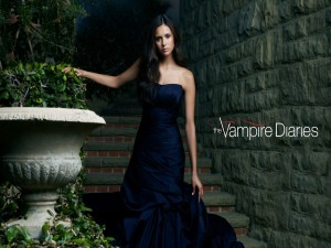 "Nina Dobrev en ""The Vampire Diaries"""