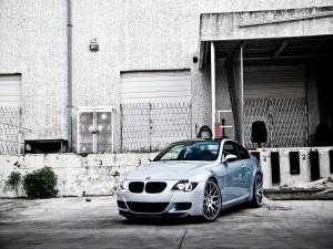 BMW M6 Silver