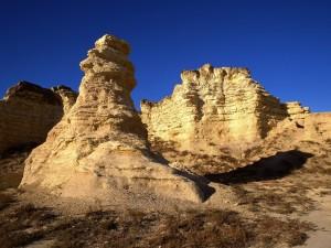 Formaciones rocosas en Kansas
