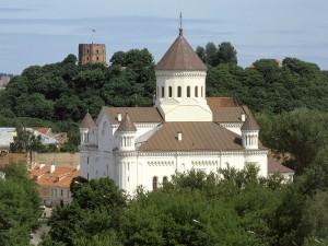 Edificios de Vilna (Lituania)
