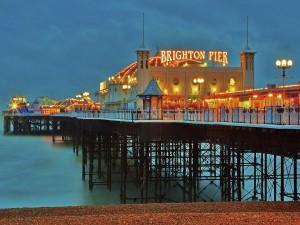 Embarcadero en Brighton (Inglaterra)
