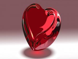 Un corazón de vidrio