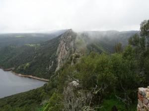 Hermosa vista del Parque Nacional de Monfragüe (Cáceres, España)