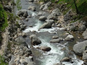 Río Jerte (Valle del Jerte, España)