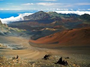 Cráter Haleakala (Parque nacional Haleakalā, Maui, Hawái)