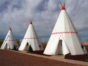 Motel Wigwam en Holbrook, Arizona