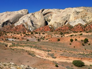 The Waterpocket Fold (Parque Nacional Capitol Reef)