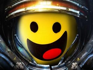 Smile vestido de astronauta