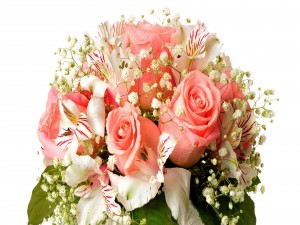 Magnífico ramo de flores
