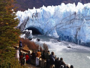 Ruptura del glaciar Perito Moreno (Argentina)