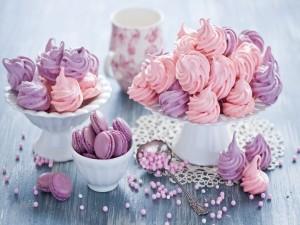 Macarons y merengues