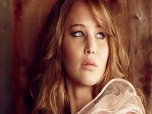La guapa actric Jennifer Lawrence