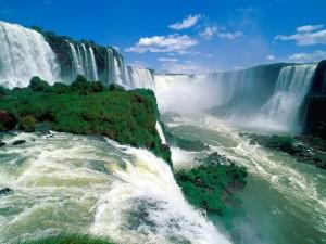 Las cataratas del Iguazú vistas de cerca