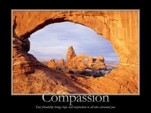 Hermosa frase junto al paisaje rocoso