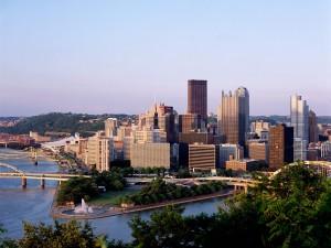 Vista de Pittsburgh (Pensilvania)